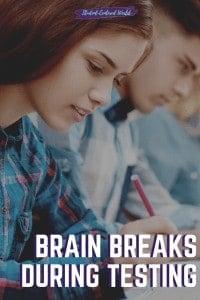 brain breaks during testing