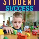 An easy path to student success child playing with wooden cars
