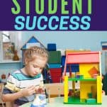 An easy path to student success child building with blocks