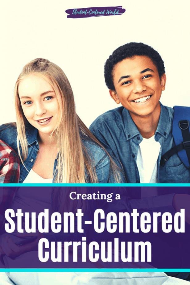 student centered curriculum
