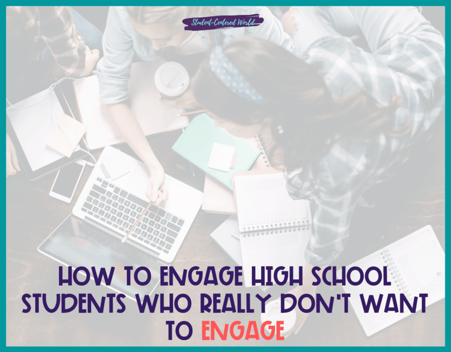 How to Engage High School Students