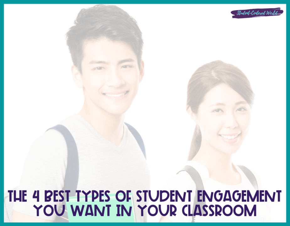 types of student engagement