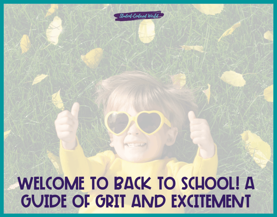 Welcome to Back to School! A Guide of Grit and Excitement