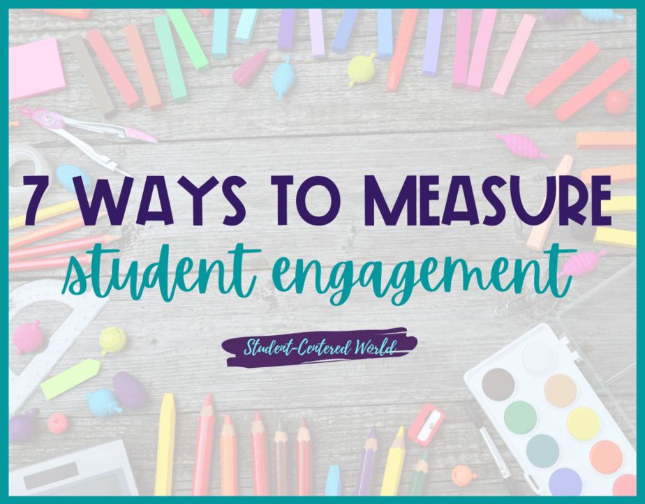 how to measure student engagement